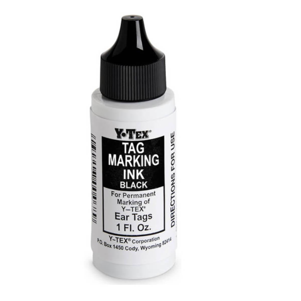 Y-Tex Tag Marking Ink - Black