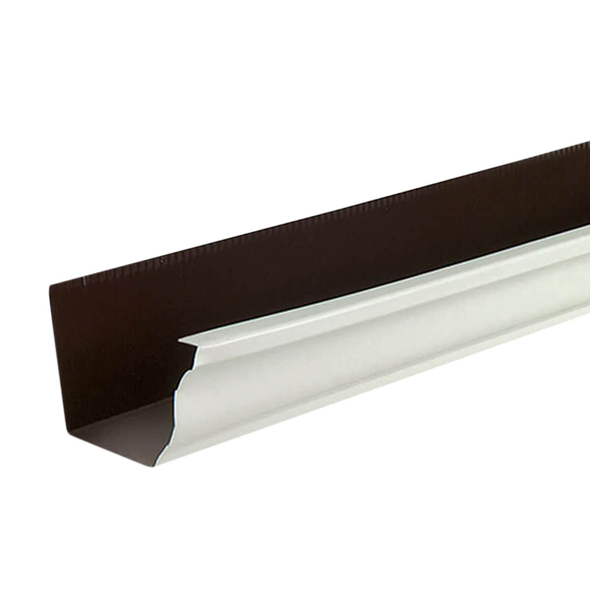 Aluminum Eavestrough - Brown