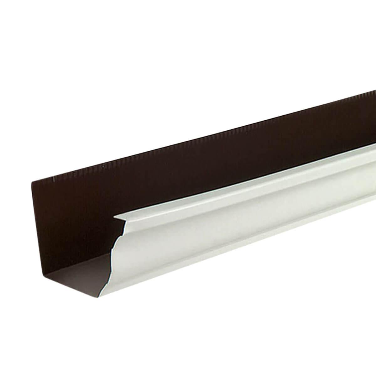 Aluminum Eavestrough - Brown