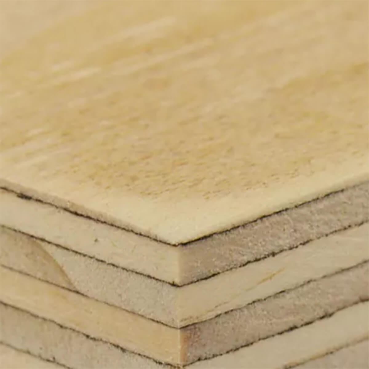 Sanded Fir G1S Plywood - 4 X 8 - 6 MM