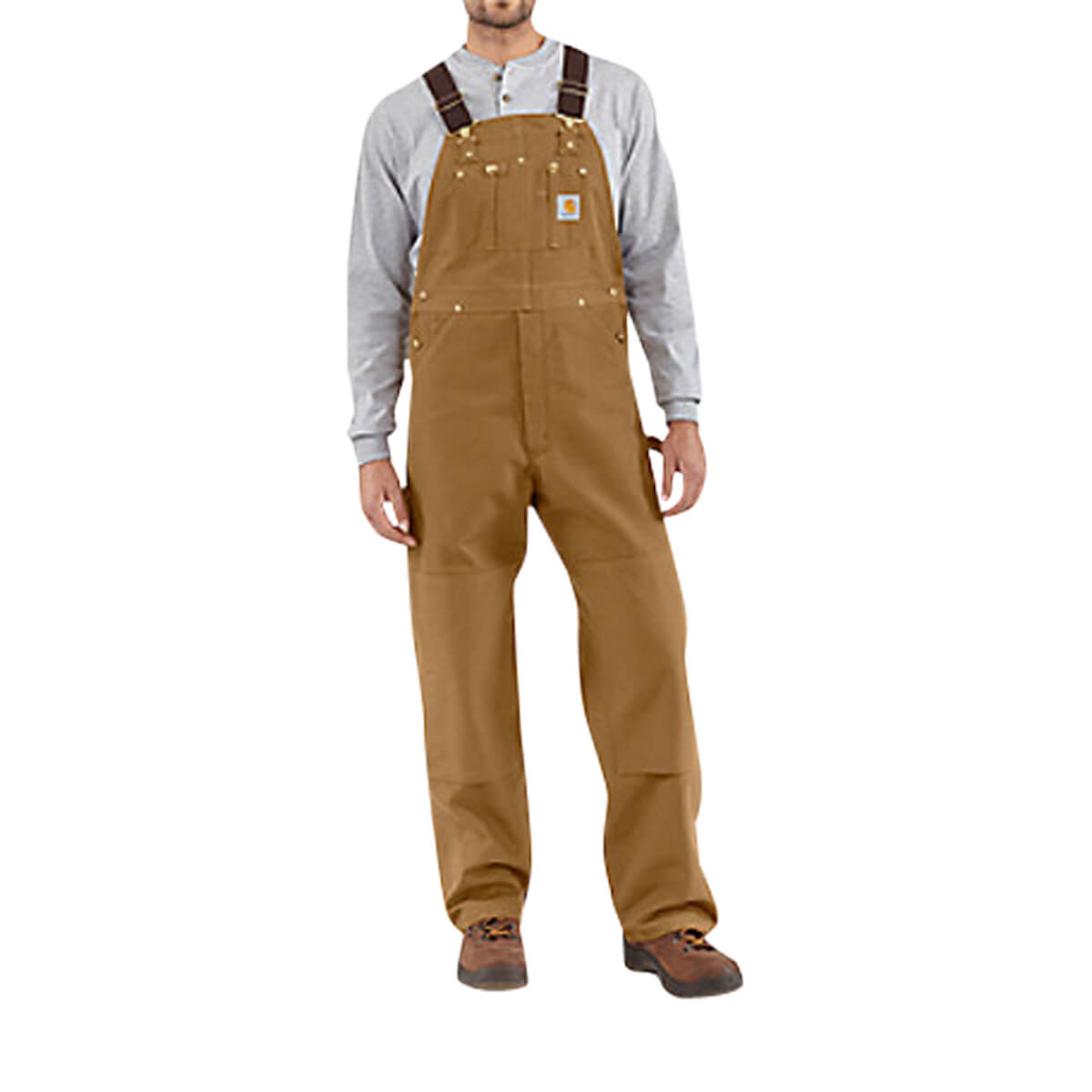 Carhartt Men's Duck Bib Overall/Unlined