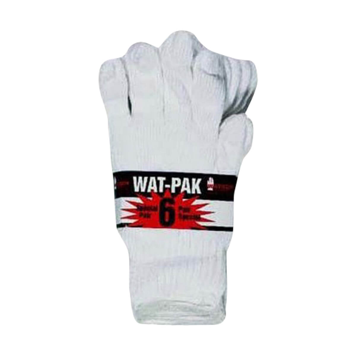 White Knight Gloves - 6 pack