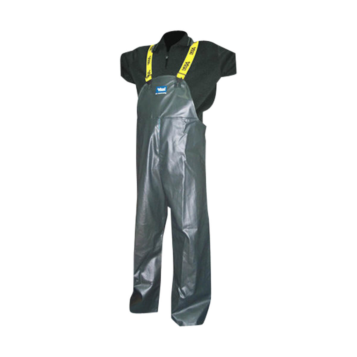 "Viking ""Journeyman"" Industrial Oil Resistant PVC/Polyester Reversible Bib Pant"