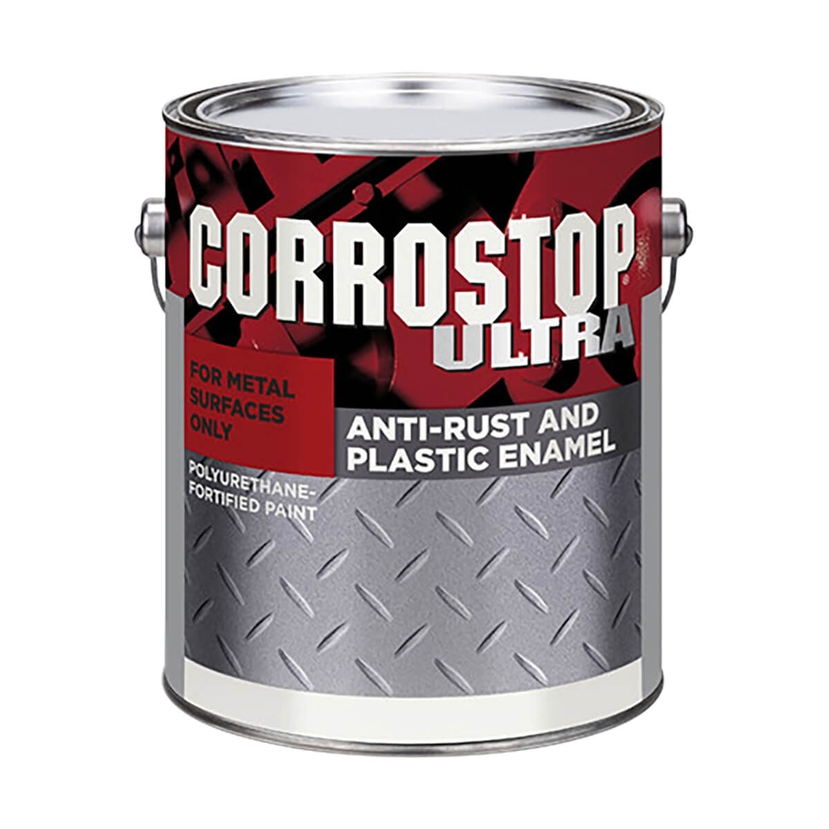 Corrostop - Anti-rust Alkyd Paint - Flat Black - 3.78 L