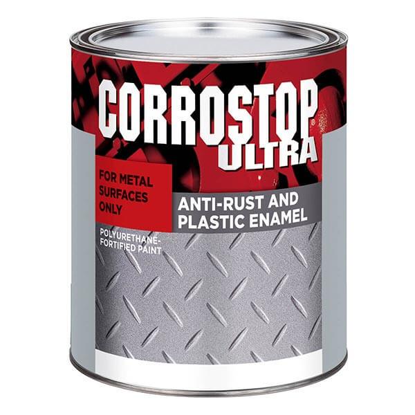 Corrostop - Anti-rust Alkyd Paints - Flat Black - 946 ml