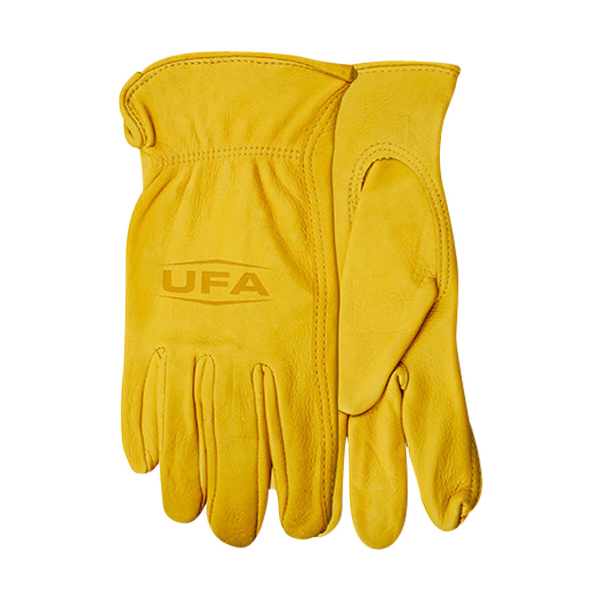 UFA Men's Lined Deerskin Gloves