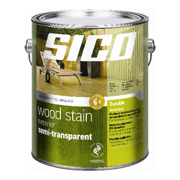 Sico Exterior Semi-transparent Stain Series 234 - Natural Base - 3.78 L