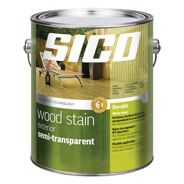 Sico Exterior Semi-transparent Stain Series 234 - Hybrid Base - 3.78 L