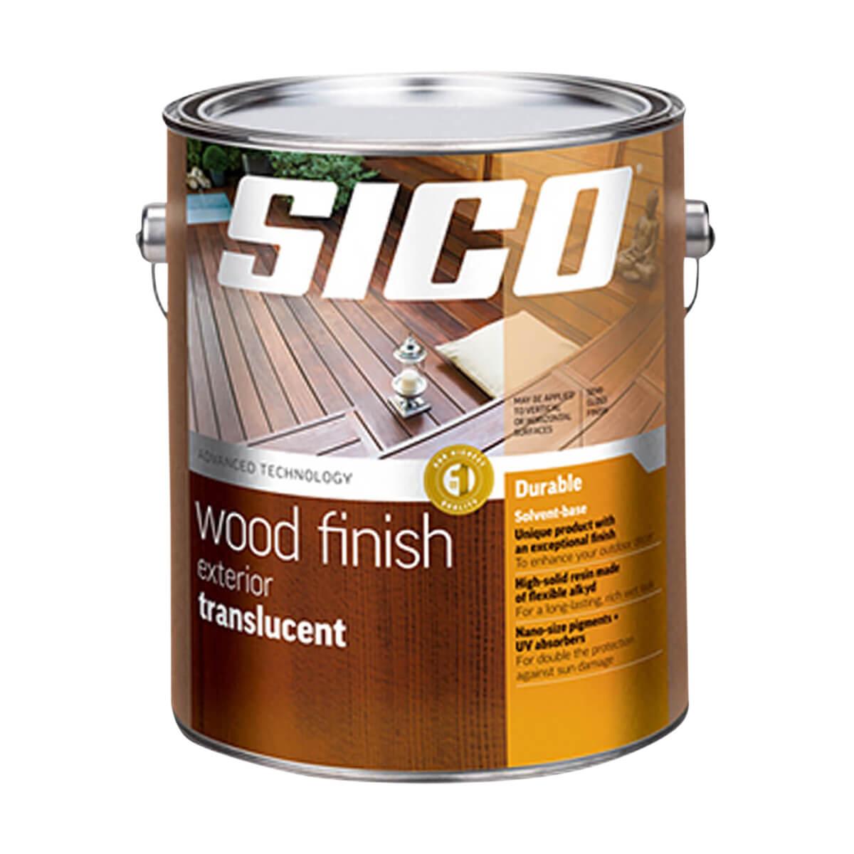 Sico Translucent Exterior Wood Finish - Series 236 - 3.78 L - Redwood
