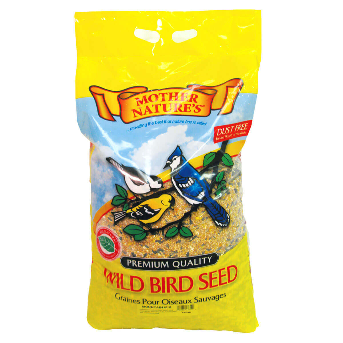 Mother Nature's Mountain Mix Bird Seed - 9.07 kg