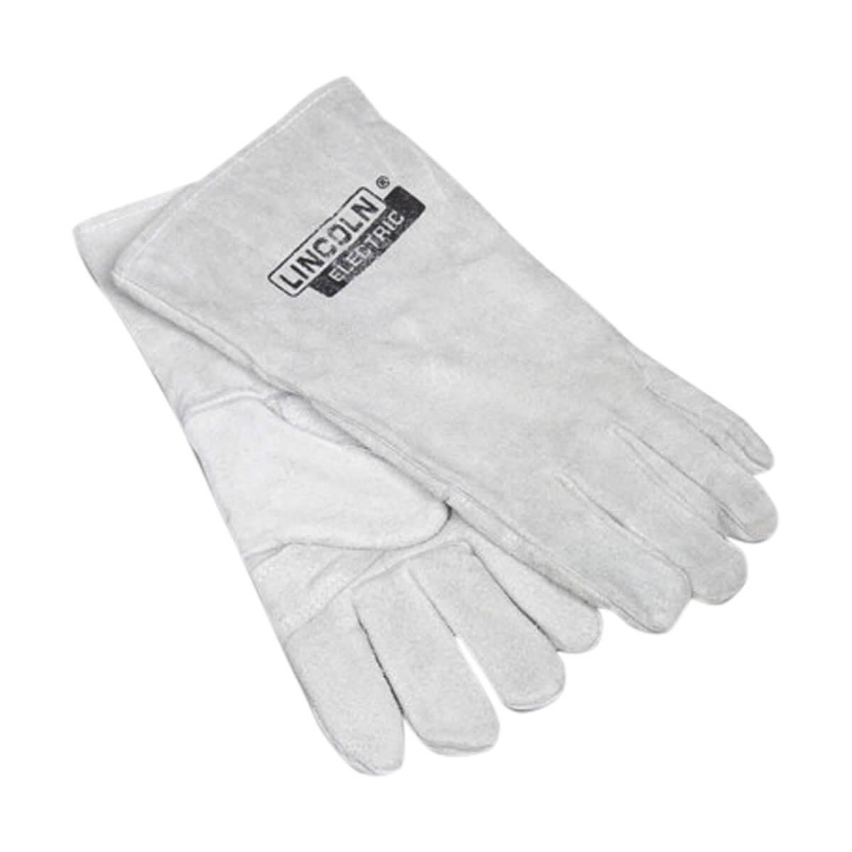 "Lincoln 14"" Grey Welding Glove"