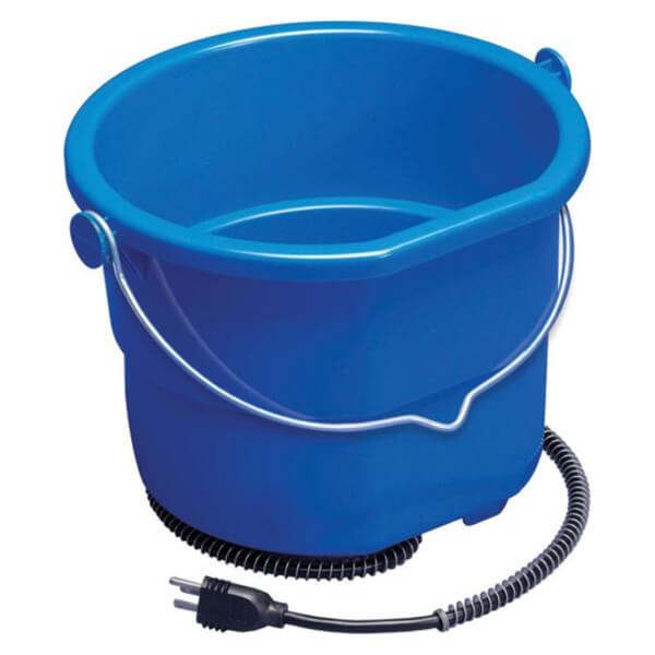 Heated Flat Back Bucket - 10 qt