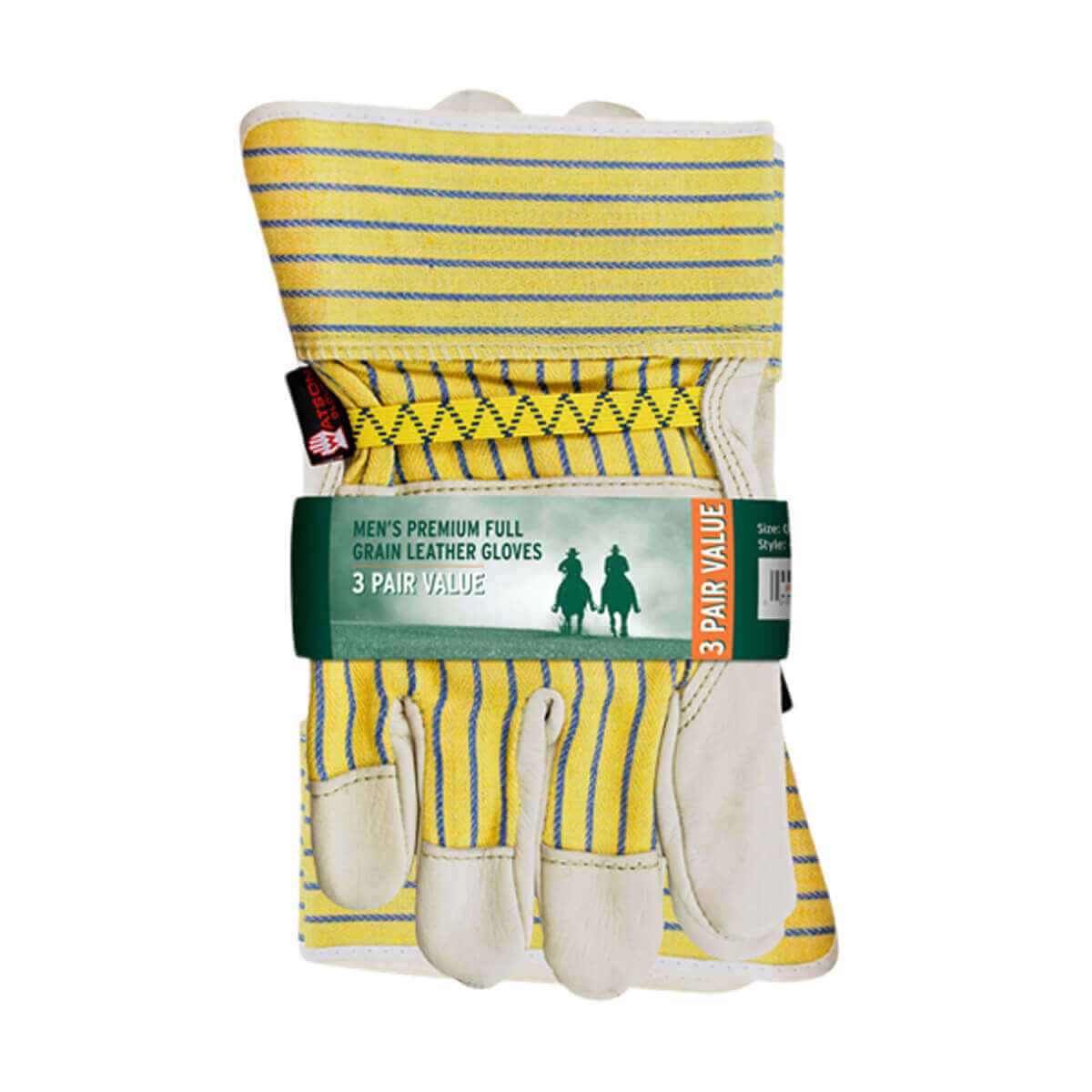 Econo Grain Gloves - 3-Pack