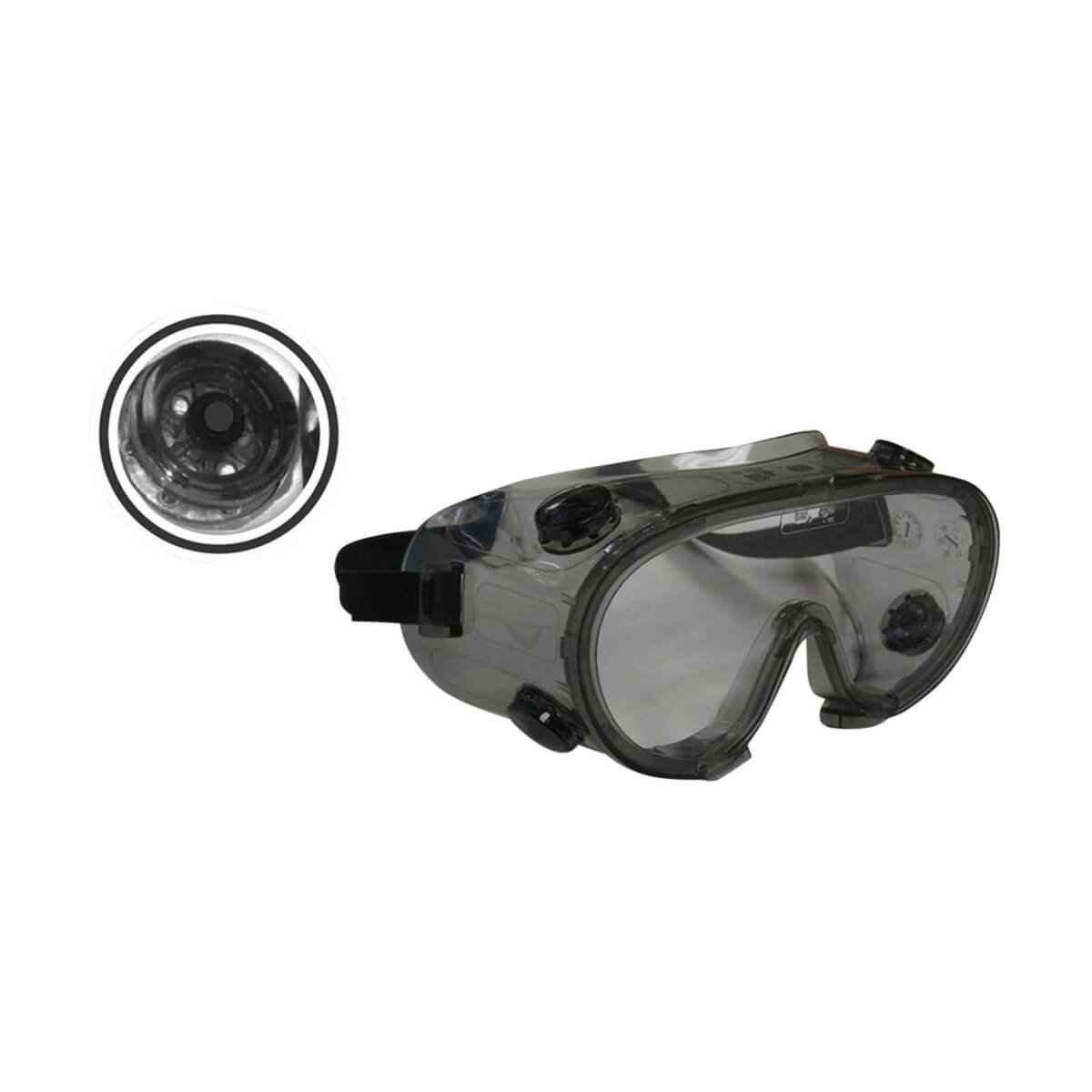 Indirect Ventilated Impact/Splash Safety Goggle