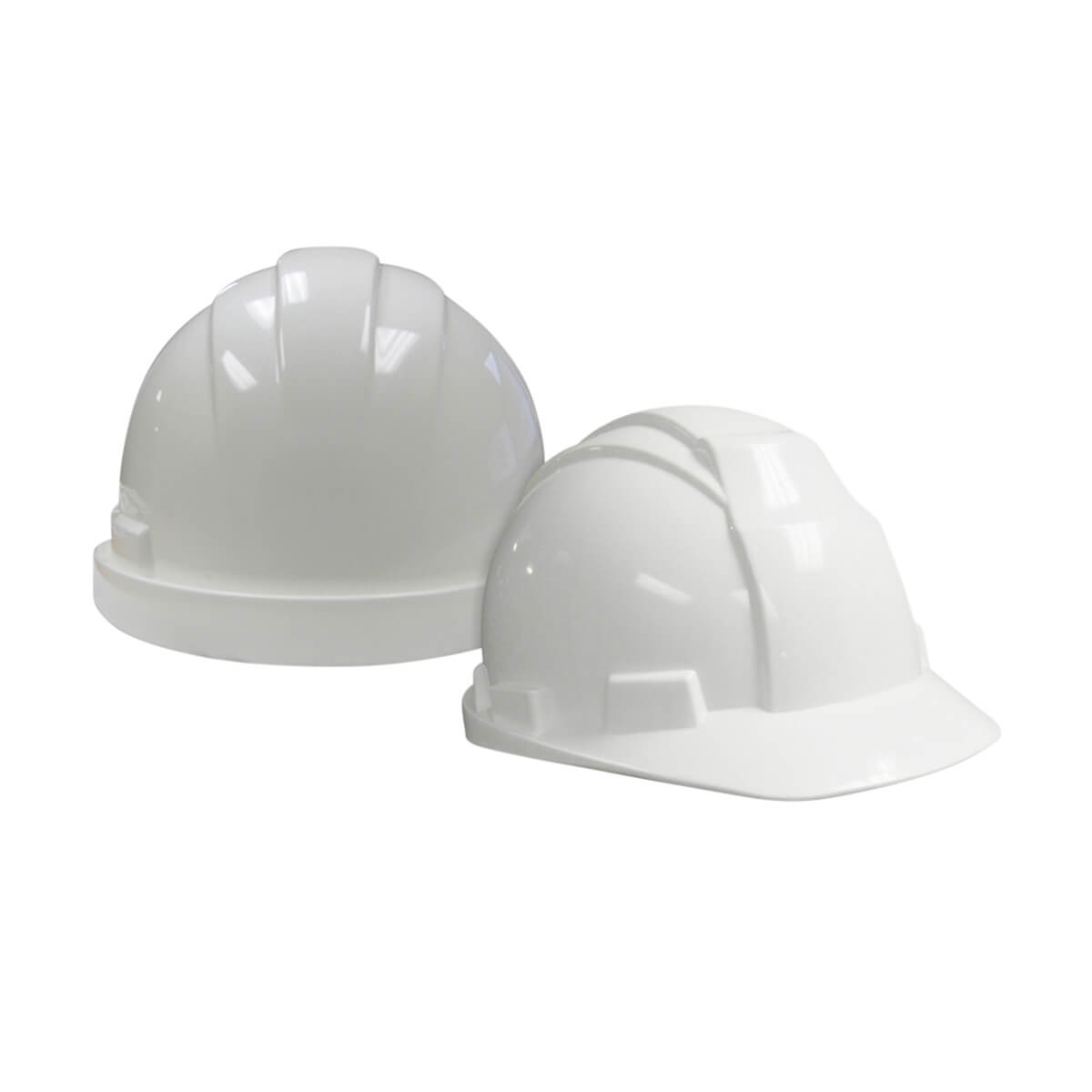 WorkHorse® White Traditional Design Hard Hat