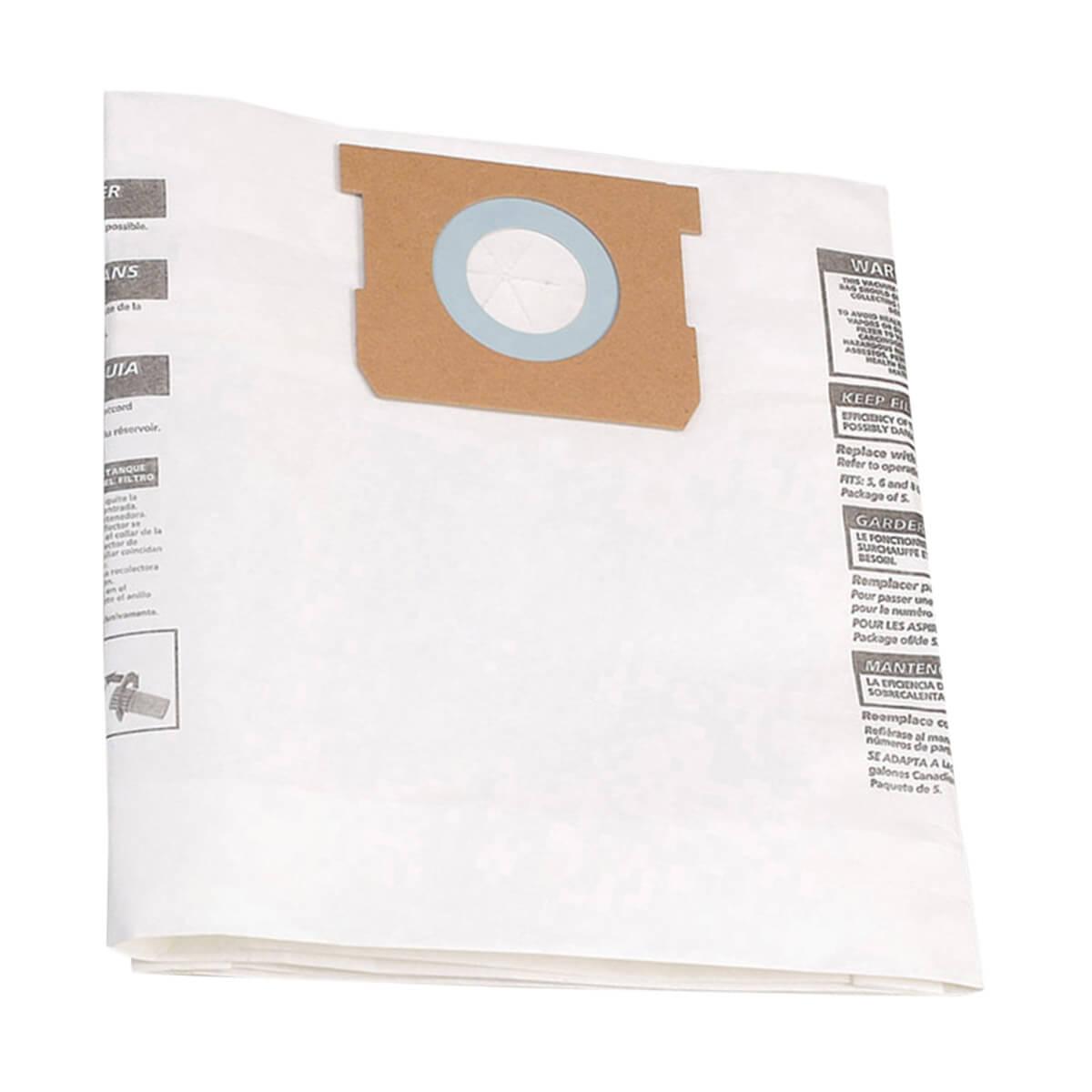 SHOP-VAC® Type E (18.9-30.3 Litre) Filter Bags (3 Pack)