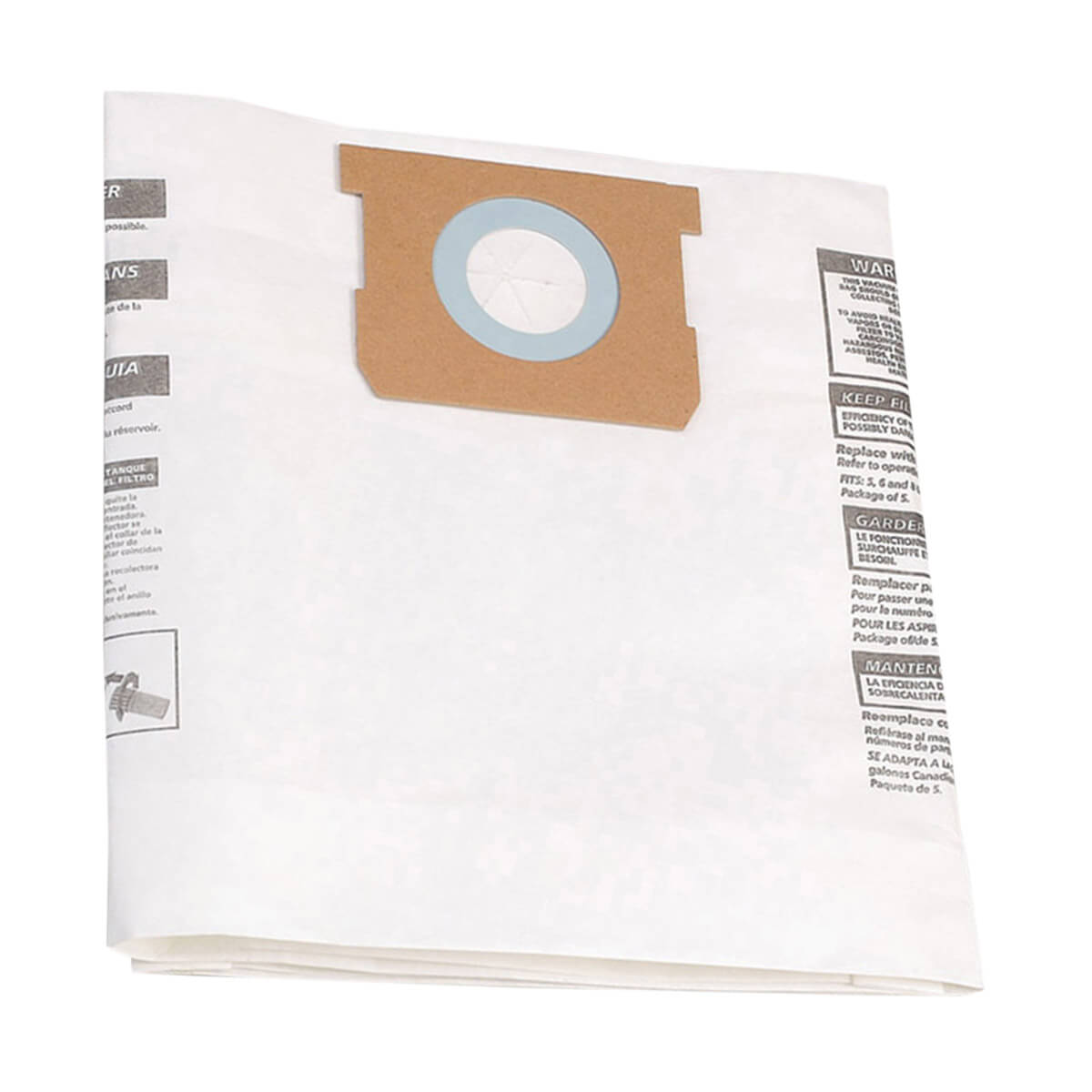 SHOP-VAC® Type F (37.8-53 Litres) Filter Bags (3 Pack)
