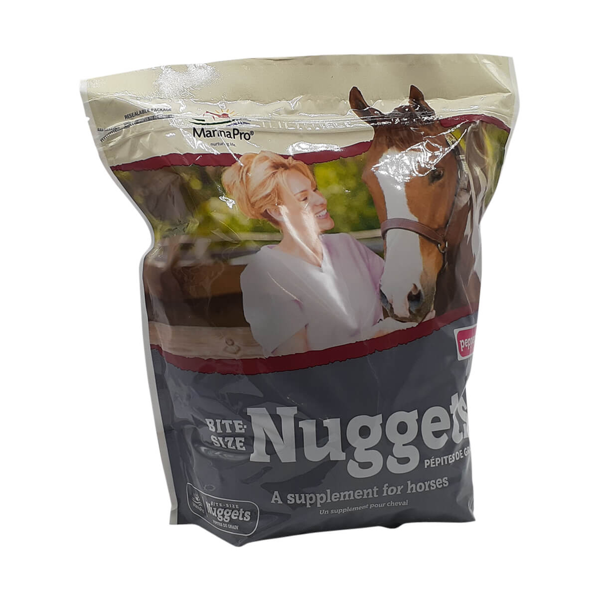 Bite-Sized Apple Nuggets for Horses - Peppermint 5lb