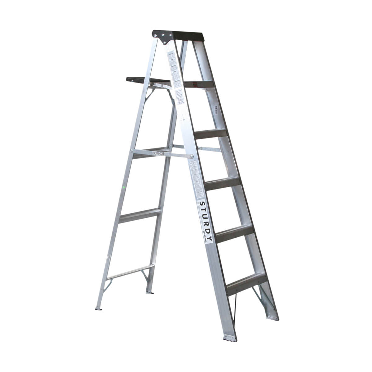 Aluminum Step Ladders  - 6'