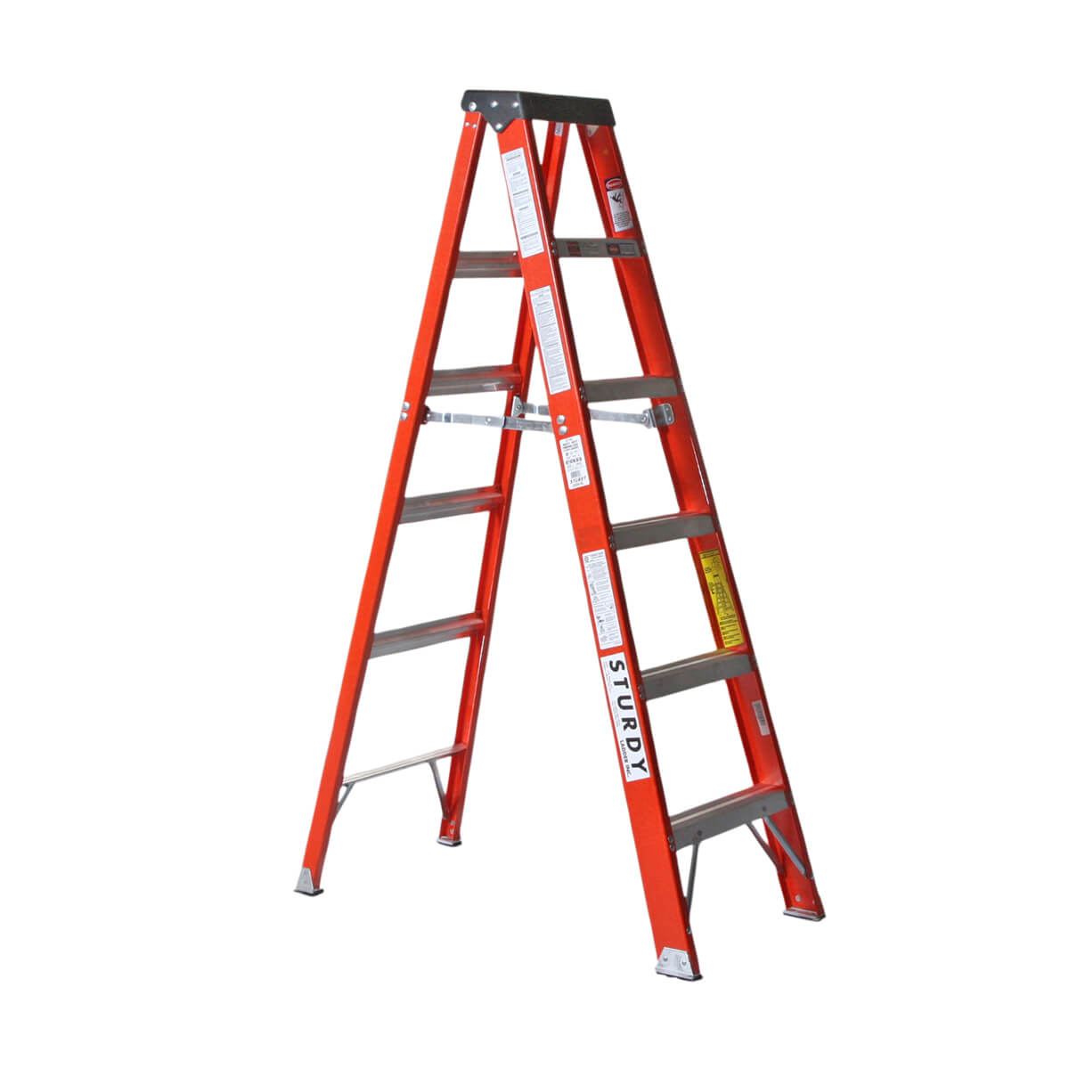 Fiberglass Step Ladder  - 8'