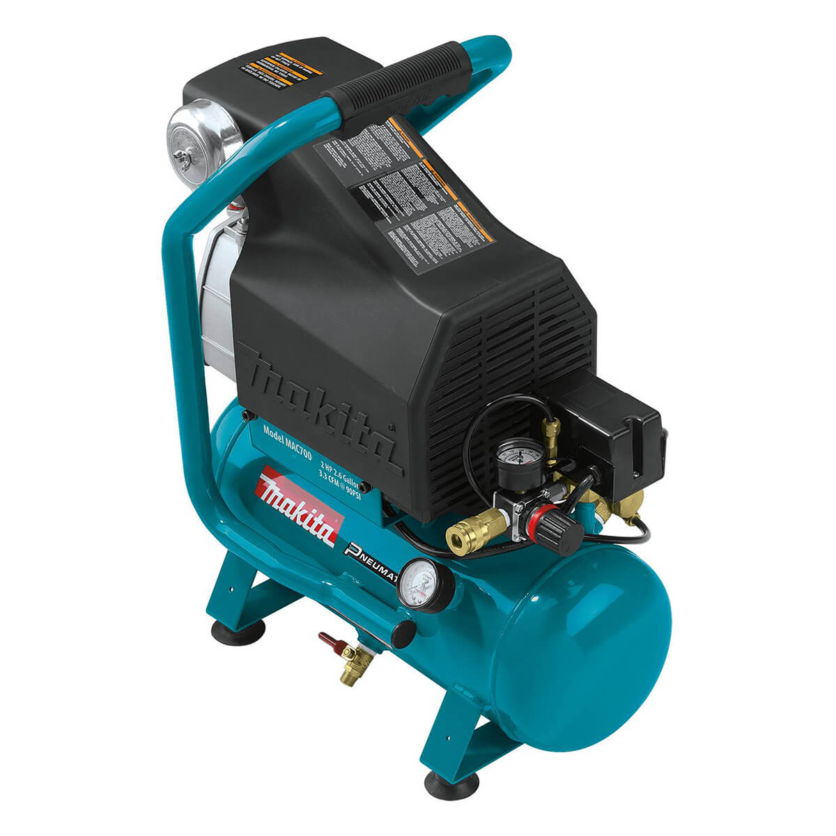 Makita MAC700 Big Bore Air Compressor - 2.0 hp