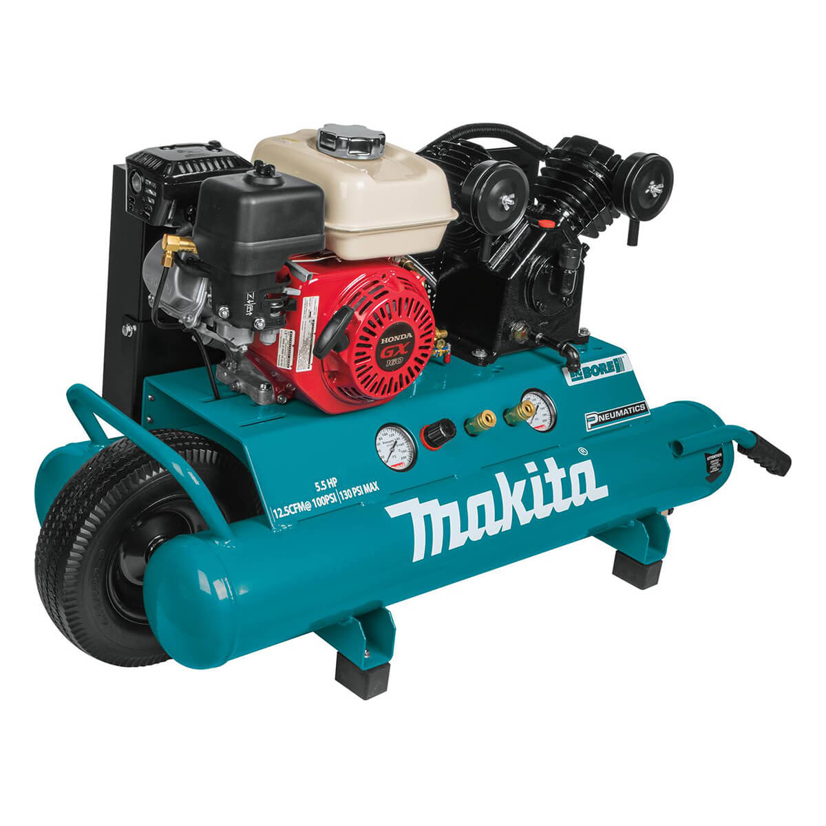Makita MAC5501G Big Bore Gas Air Compressor - 5.5 hp