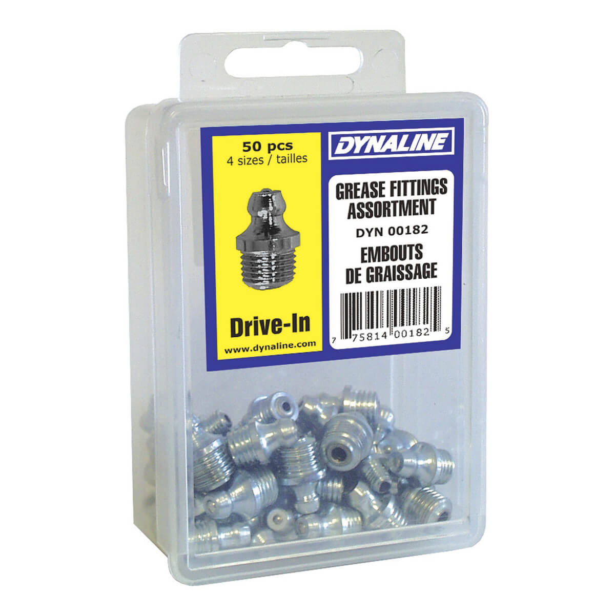 Drive-In Grease Fitting Dynakit