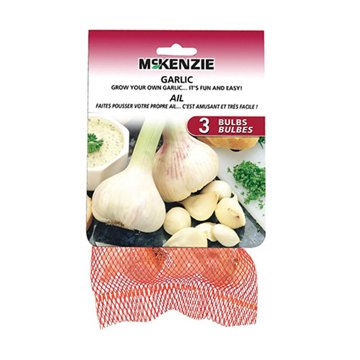 Garlic Bulbs (3-Pack)