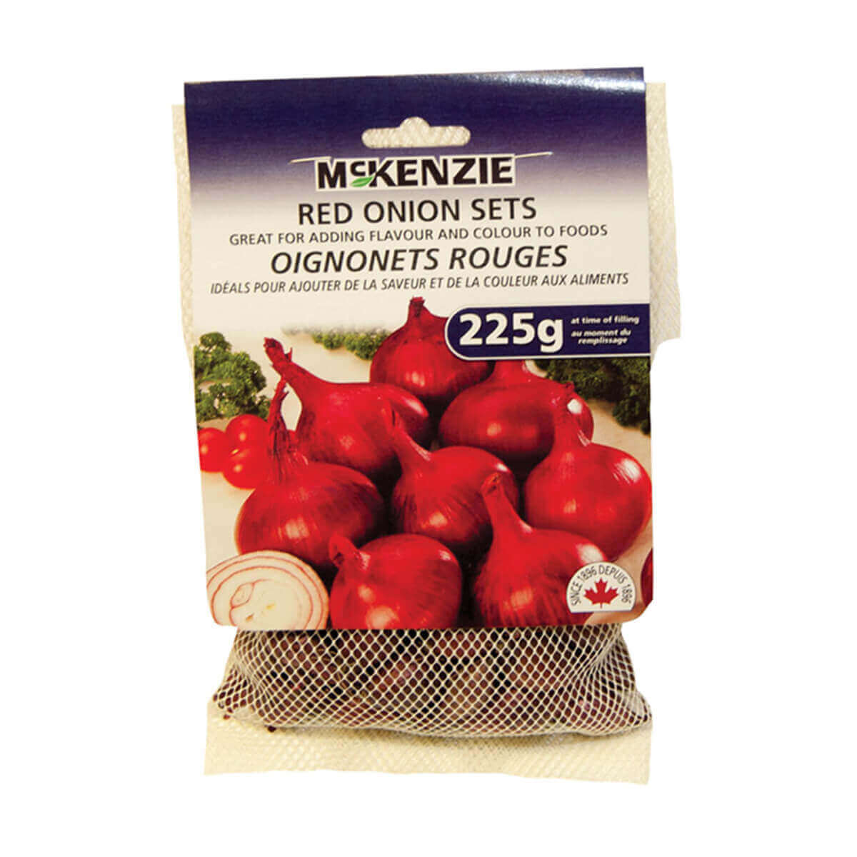 225 g Red Onion Bulbs (100-Pack)