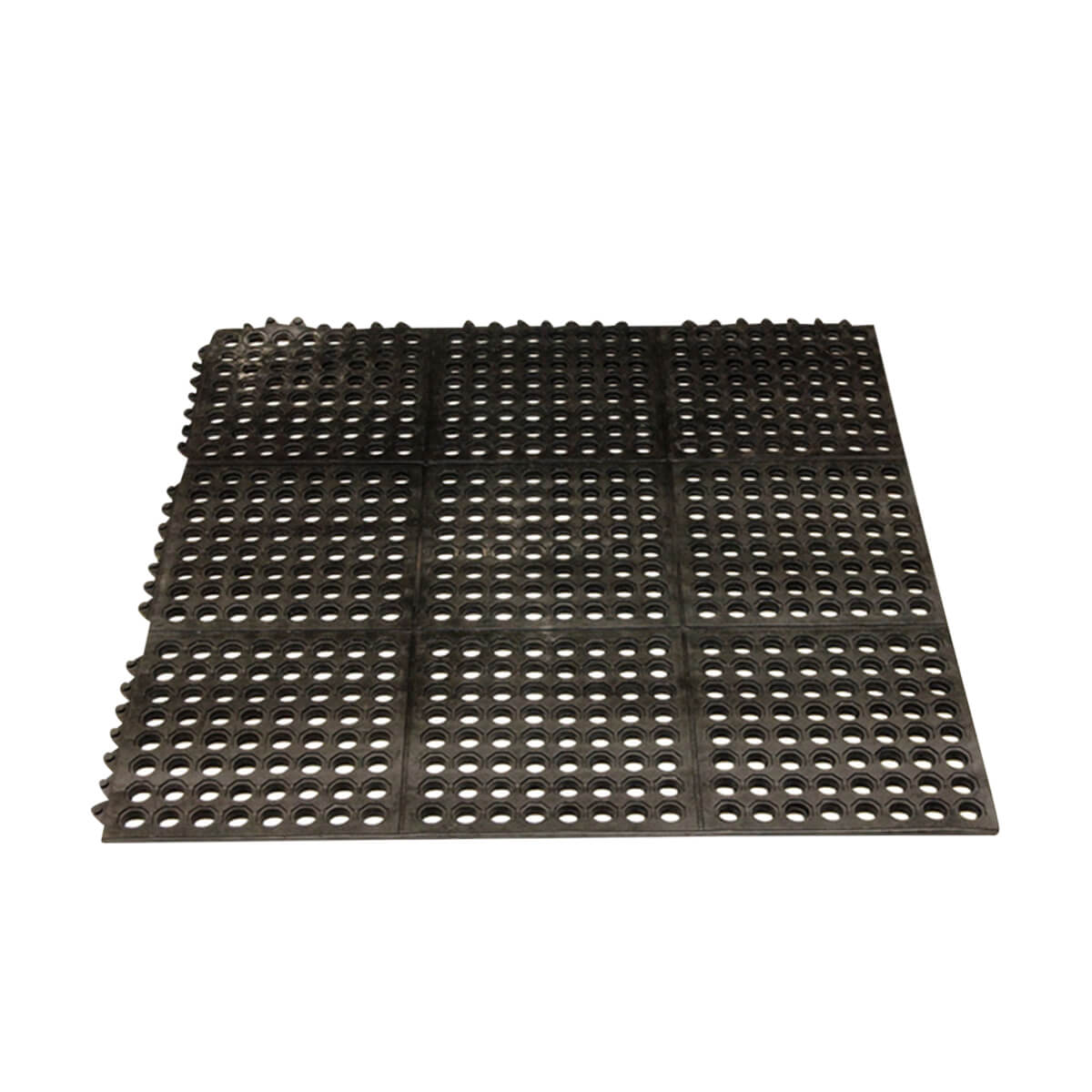 36 x 36 Anti-Fatigue Interlocking Rubber Mat