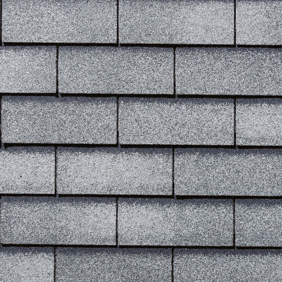 Yukon 3-tab Roofing Shingles - Silver Grey