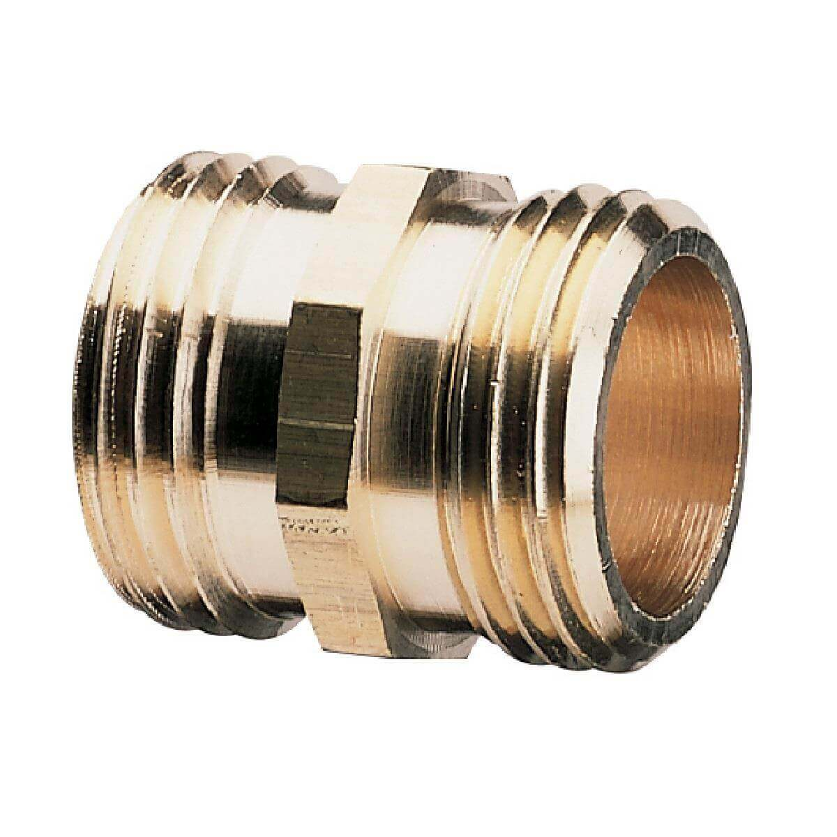 "3/4"" x 3/4"" Heavy Duty Model Double Male Connector"