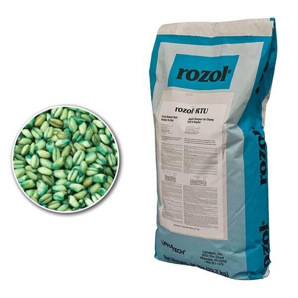 Rozol RTU Field Rodent Bait - 50 lb. Bag