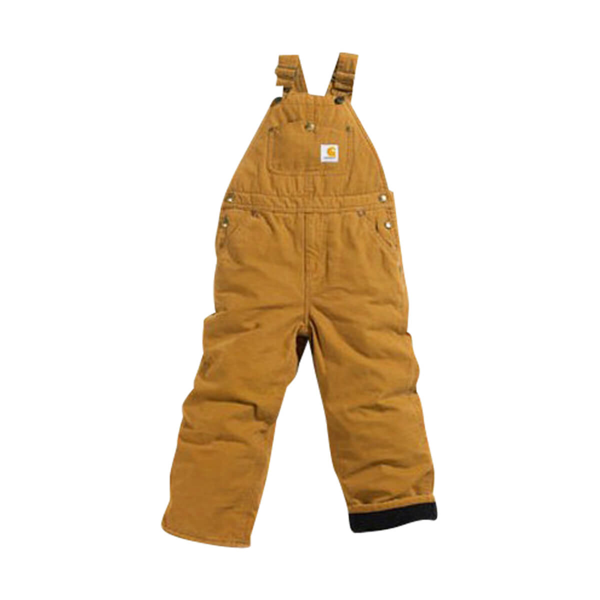 Children's Carhartt Lined Duck Overalls