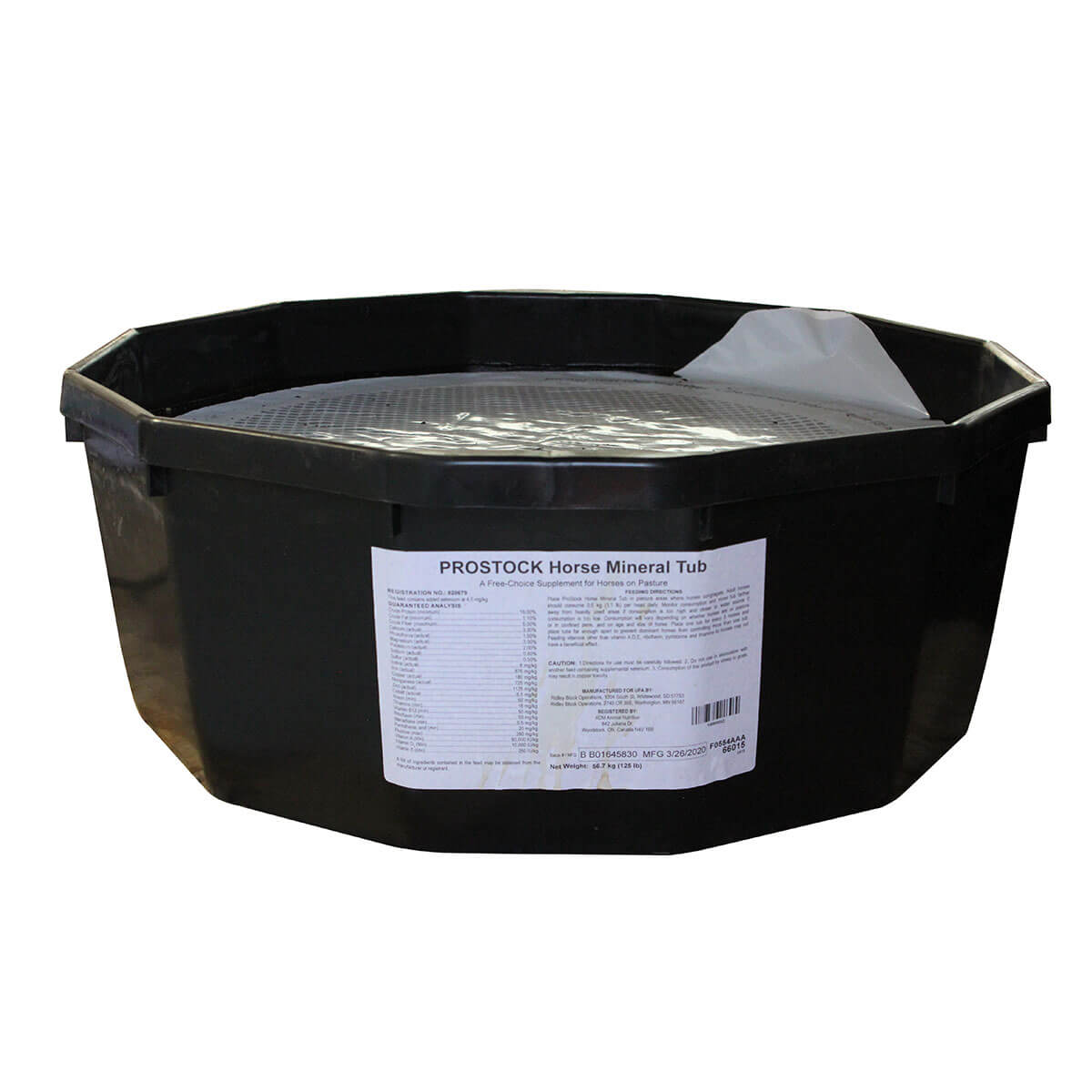 ProStock® 18% Equine All-Natural Tub - 56 kg