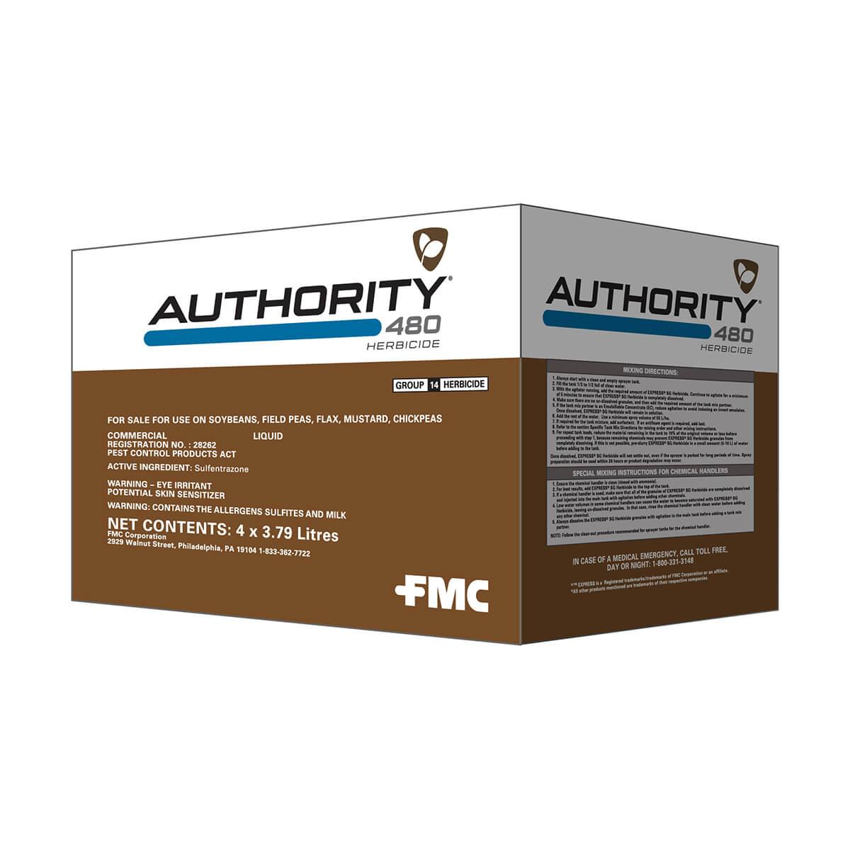 Authority® 480 Herbicide - 3.79L Jug