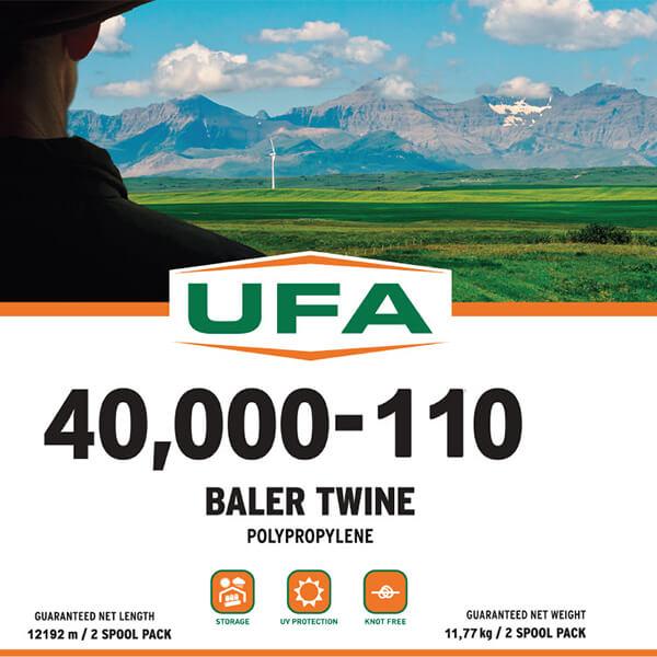 40,000' - 110 Polypropylene Baler Twine
