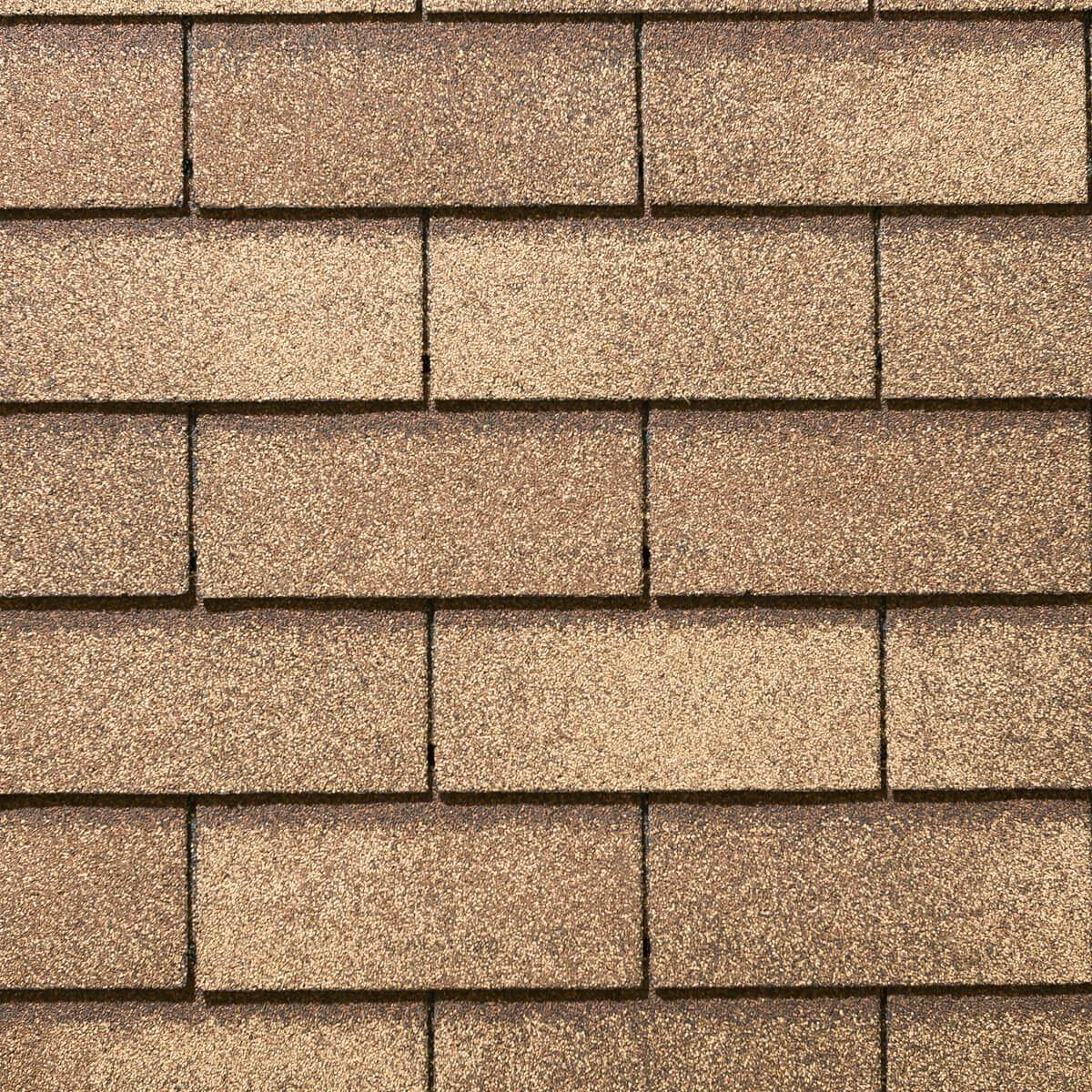 Yukon 3-tab Roofing Shingles - Sunset Cedar