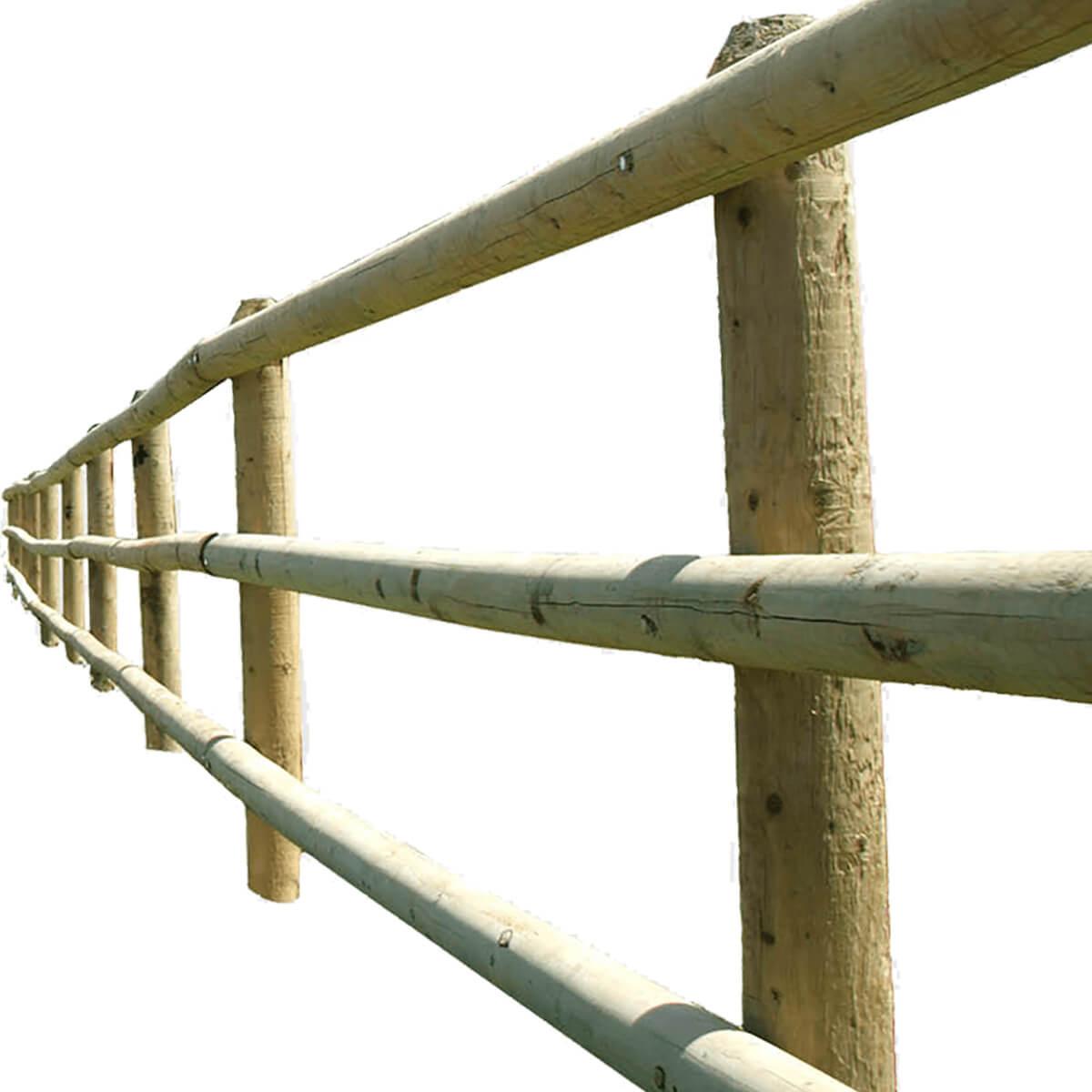 Dowelled Rail - Blunt - 3.25-in x 12-ft
