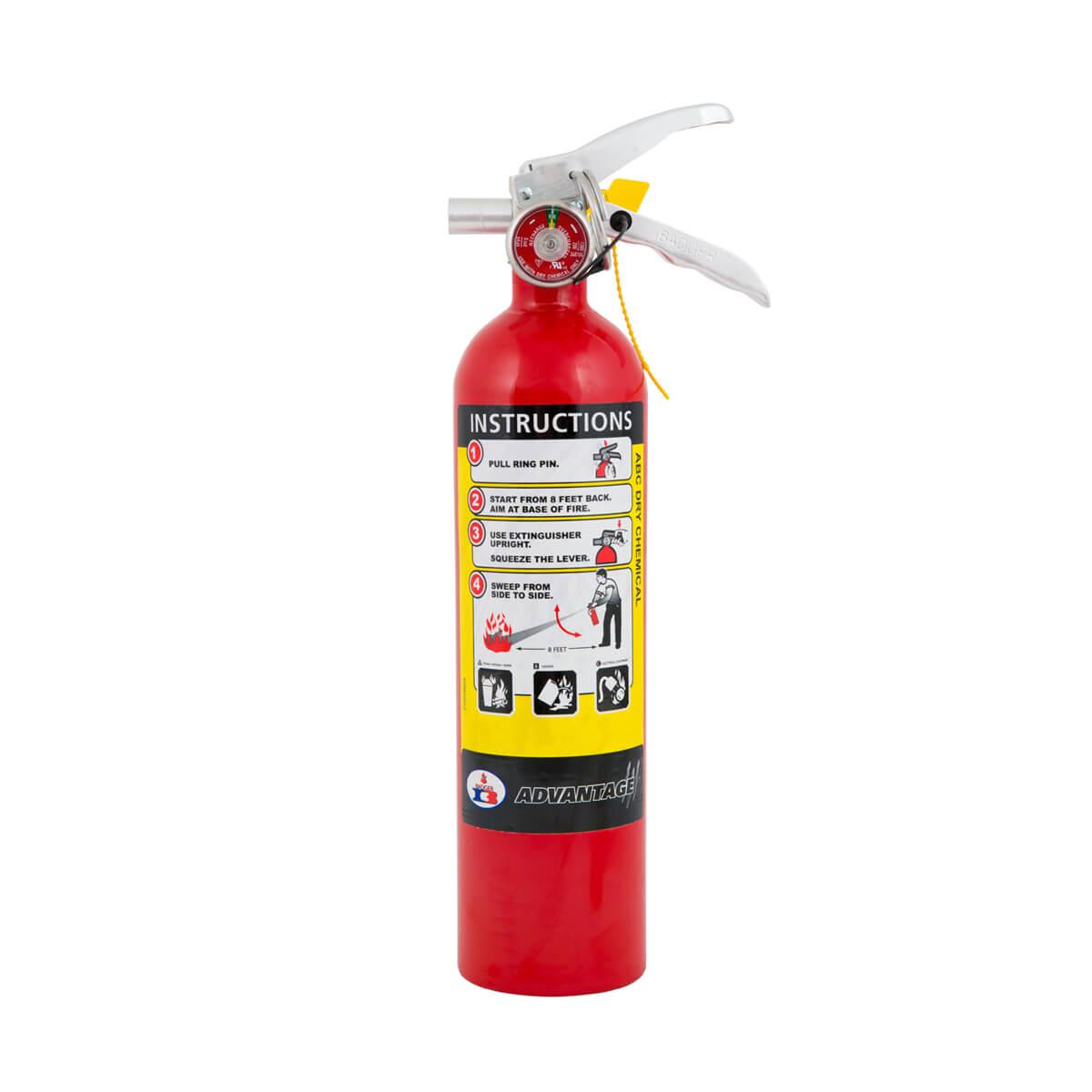 Badger Advantage 2.5lb 1-A:10-B:C Fire Extinguisher