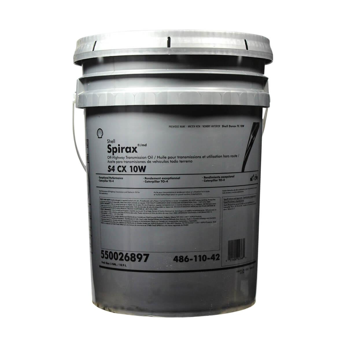 Shell Spirax S4 CX 10W - 18.9 litre