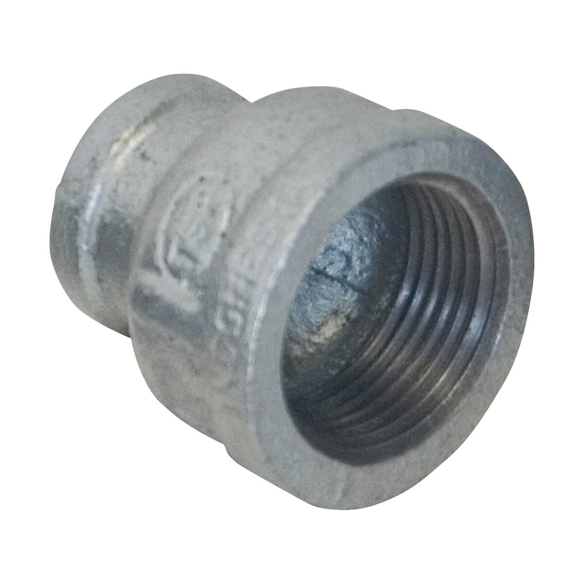 Galvanized Coupling Reducer - 1/2-in x 3/8-in