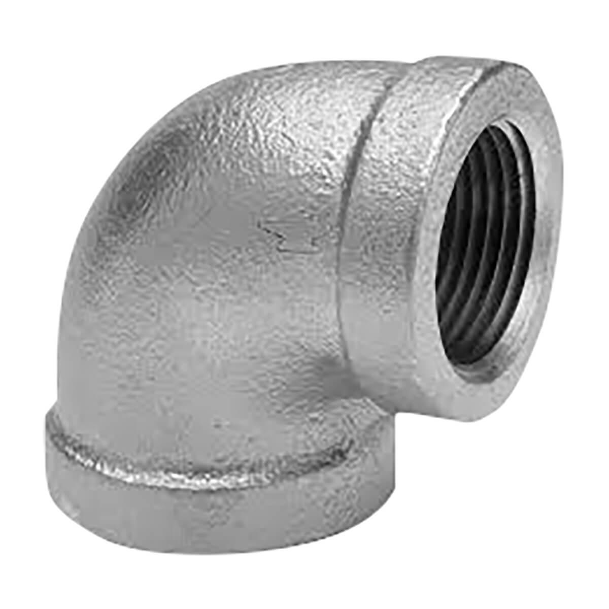 "Fitting Galvanized Iron 90° Elbow 1/4"""