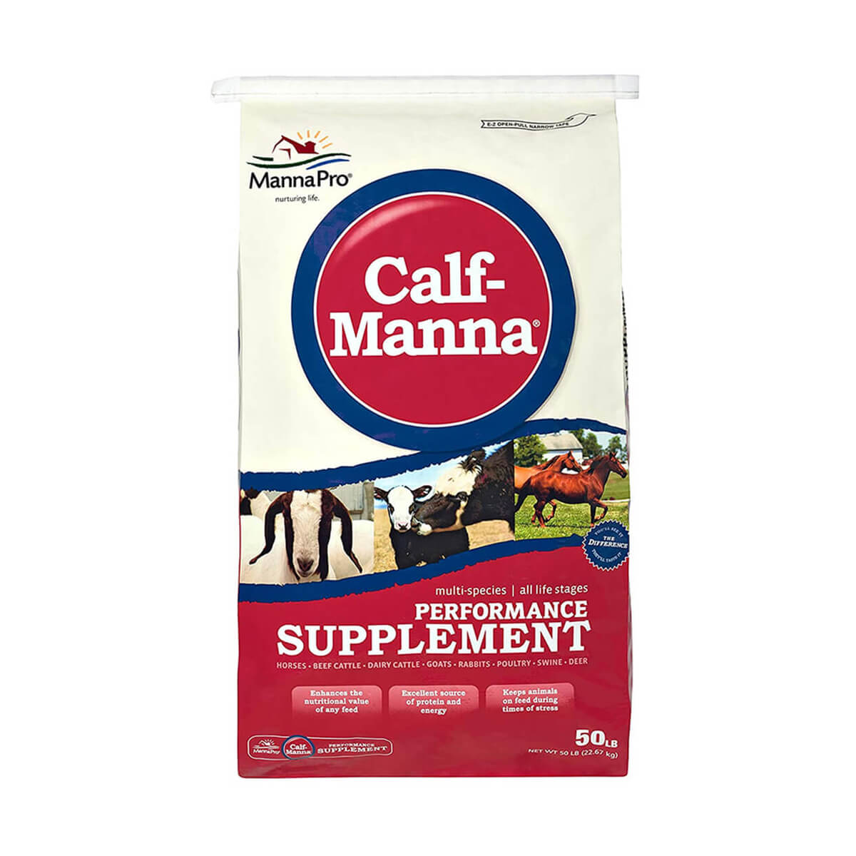 Calf-Manna Performance Supplement - 22.67 kg
