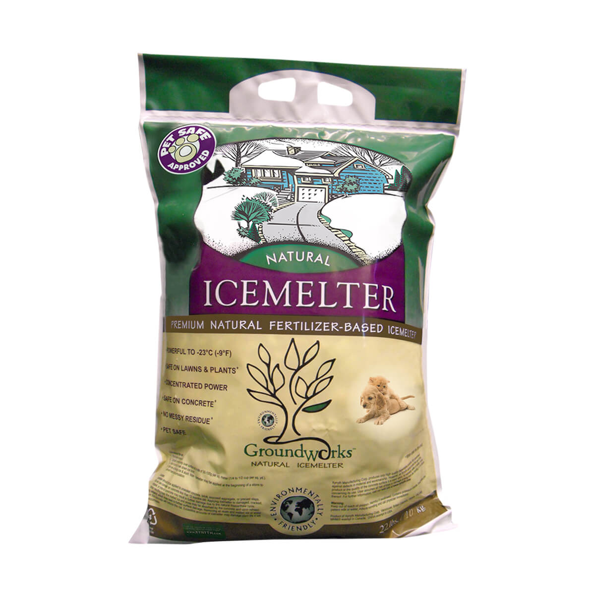 Ground Works Natural IceMelter - 10 kg. (22 lb.)