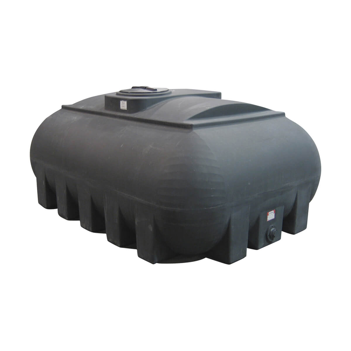 950 Gallon Hippo Transport Tank - Black