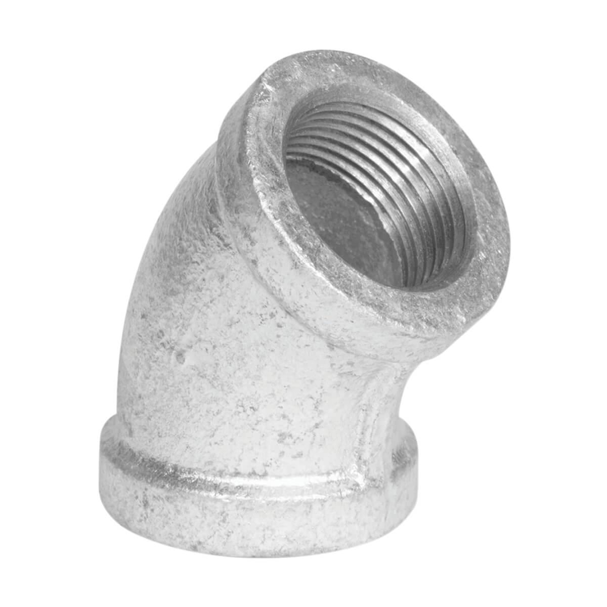 "Fitting Galvanized Iron 45° Elbow 3/4"""