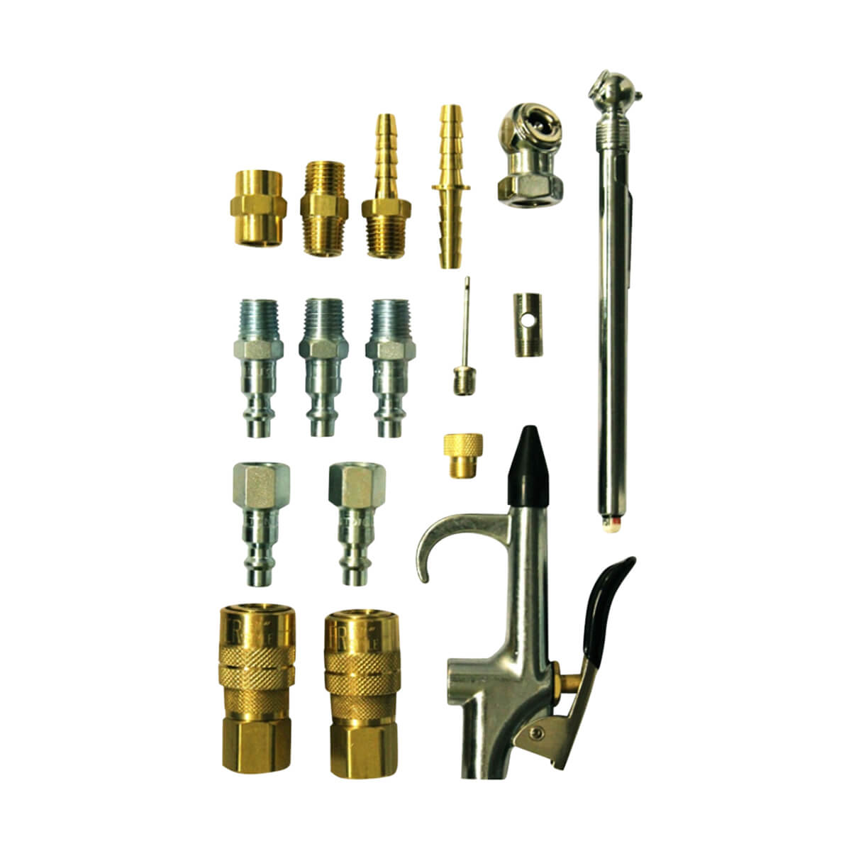 M Style Compressor Starter Kit - 16 Piece