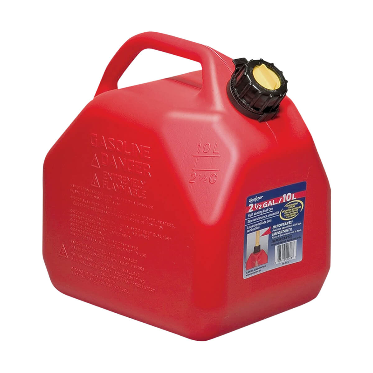 Scepter Jerry Gas Can 10L