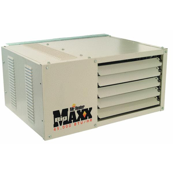 Mr. Heater 50,000 BTU Natural Gas Big Maxx Compact Unit Heater